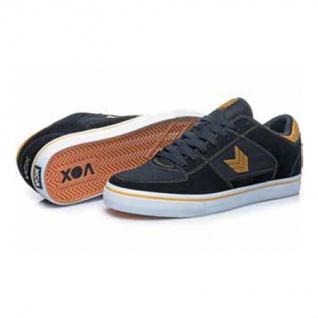 Vox Skateboard Skateboard Skateboard Schuhe Trooper Schwarz/Gold/Weiß bd13f4