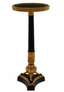 Casa Padrino Luxus Art Deco Designer Beistelltisch 30 x H. 70, 5 cm - Luxus Kollektion