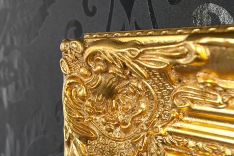Handgefertigter Barock Wandspiegel Gold Antik, Höhe 55 cm, Breite 45 cm, Tiefe 4 cm - Edel & Prunkvoll - Vorschau 5