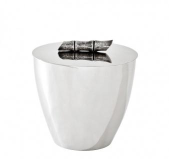 Casa Padrino Luxus Tisch Weinkühler / Sektkühler mit Deckel - Hotel Accessoires