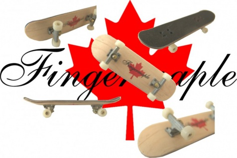 Fingermaple Fingerboard - echtes Holz - Fingerskateboard Finger Skateboard