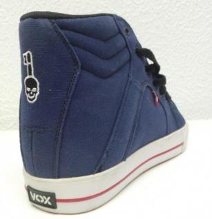 Vox Skateboard Schuhe Schuhe Skateboard FootWear Vamp Navy/White 421391