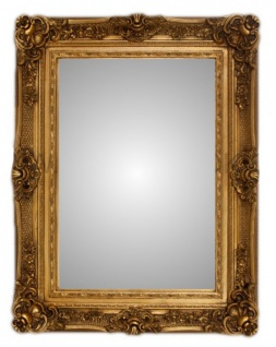 Casa Padrino Barock Wandspiegel Gold Höhe 130 cm, Breite 96 cm - Edel & Prunkvoll