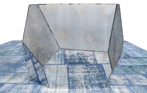 Casa Padrino Designer Konsole mit antikem Spiegelglas 125 x 54 x H. 100 cm - Designer Kollektion - Vorschau 3