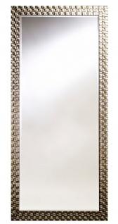 Casa Padrino Wohnzimmer Wandspiegel Silber 78 x H. 168 cm - Luxus Spiegel