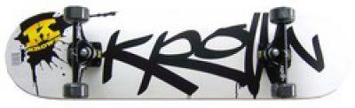 Krown Pro Black Splat Logo Komplettboard Skateboard 8.0 inch