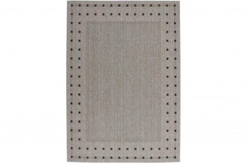 Casa Padrino Teppich Mediterran Silber-Grau Dots - Designer Teppich