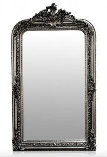 Casa Padrino Barock Spiegel Silber Antik Stil 90 x H. 160 cm - Wandspiegel Möbel