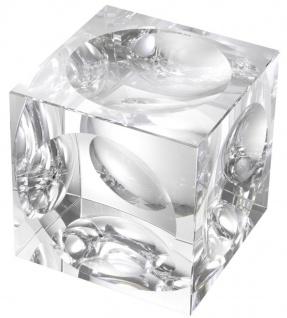 Casa Padrino Designer Deko Objekt Kristallglas Würfel 15 x 15 x H. 15 cm - Luxus Qualität - Vorschau 2