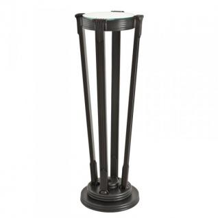 Casa Padrino Luxus Barock Beistelltisch / Säule Messing Vintage Bronze Finish 36 x H 105.5 cm - Tisch Möbel