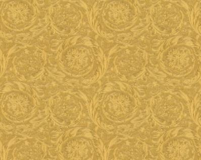 Versace Designer Barock Vliestapete IV 36692-3 - Gold Metallic - Design Tapete - Hochwertige Qualität