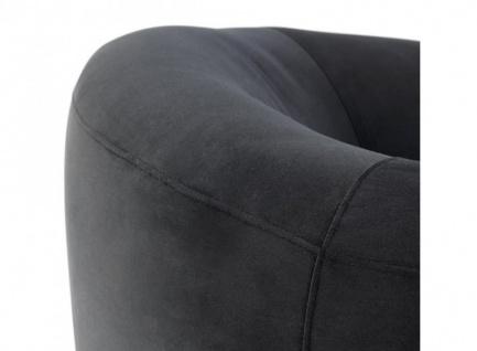 Casa Padrino Luxus Art Deco Hotel Sessel Schwarz - Luxus Qualität - Vorschau 3