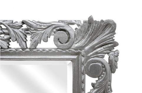 Casa Padrino Barock Spiegel Silber Handgefertigt 193 x 110 cm - Holzspiegel - Barock Möbel - Vorschau 2