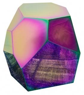 Casa Padrino Designer Beistelltisch Titan 65 x 50 x H. 60 cm - Designer Kollektion