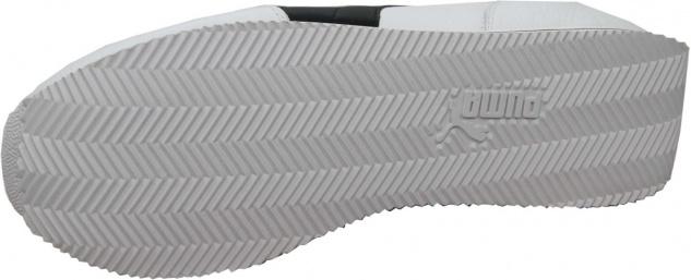 Puma Schuhe Street Cat Leather White / Black - Sneaker Sneaker Schuhe - Laufschuhe - Vorschau 3