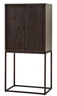 Casa Padrino Designer Weinschrank 81, 5 x 50, 5 x H. 168 cm - Luxus Kollektion