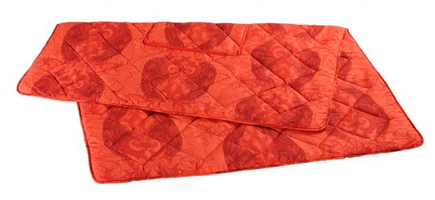 Harald Glööckler Designer Verwandlungskissen Engel Rot + Casa Padrino Luxus Barock Bleistift mit Kronendesign - Vorschau 3