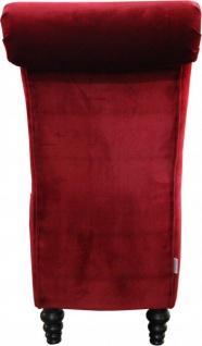 Casa Padrino Designer Chesterfield Esszimmer Stuhl Bordeaux Rot / Braun - Vorschau 3