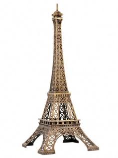 Casa Padrino Luxus Standleuchte Eiffelturm Messingfarben - Massives Metall - Leuchte Lampe - Tischleuchte Tischlampe, Stehleuchte, Stehlampe - Vorschau 5