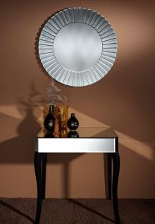 Casa Padrino Luxus Spiegel Ø 80 cm - Luxus Wohnzimmer Möbel