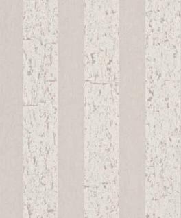 Casa Padrino Barock Vliestapete mit Streifen Creme / Beige 10, 05 x 0, 53 m - Deko Accessoires