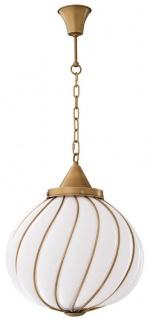 Casa Padrino Luxus Kronleuchter Antik Messingfarben / Weiß Ø 43 x H. 50 cm - Luxus Kollektion - Vorschau 5