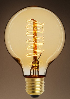 Casa Padrino Luxus Glühbirnen 6er Set Antik Gold / Gold 9, 5 x H. 13, 5 cm - Lampen & Leuchten Accessoires