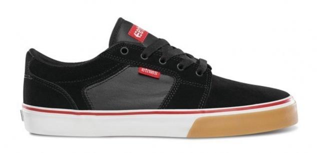 Etnies Skateboard Schuhe Bargels Black/Red Etnies Shoes