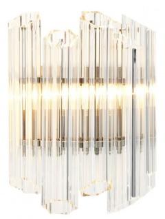 Casa Padrino Luxus Wandleuchte 33 x 17 x H. 32, 5 cm - Luxus Qualität
