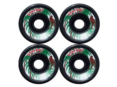 Big Foot Longboard Wheels Schwarz 70mm/78a Rollen Wheel Set