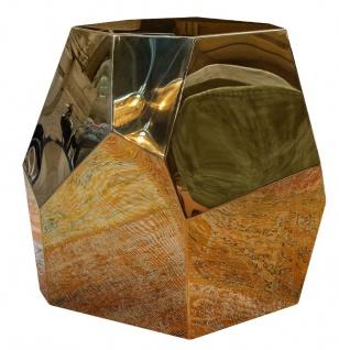 Casa Padrino Designer Beistelltisch Gold 65 x 50 x H. 60 cm - Designer Kollektion