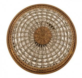 Casa Padrino Luxus Deckenleuchte Messing Durchmesser 45 x H 37 cm Antik Stil - Möbel Lüster Deckenlampe - Vorschau 3