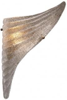 Casa Padrino Luxus Wandleuchten Set Antik Messingfarben 20 x 9 x H. 40 cm - Wandlampen im Flügel Design - Vorschau 3
