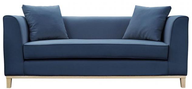 Casa Padrino Luxus Sofa mit Kissen 202 x 84 x H. 84 cm - Verschiedene Farben - Hotel Möbel