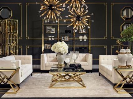 Casa Padrino Luxus Hängeleuchte - Luxus Restaurant Hotel Beleuchtung - Vorschau 2