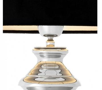 Casa Padrino Luxus Tischleuchte Nickel - Luxus Leuchte - Vorschau 3