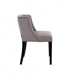 Casa Padrino Luxus Esszimmer Stuhl Grau - Luxus Kollektion - Vorschau 3