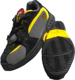 Duffs Skateboard Schuhe Swiss Tech XT K9 Black/Yellow