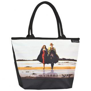 """Designer Shoppertasche mit dem Motiv des schottischen Künstlers Jack Vettriano """" Road to Nowhere"""" - Elegante Tasche - Luxus Design"""