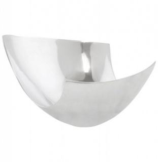 Casa Padrino Aluminium Schale 35 x 31 cm - Designer Obstschale