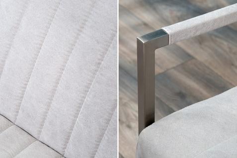 Casa Padrino Designer Sitzbank Stone Grau Breite 160 cm, Höhe 80 cm - Vorschau 2
