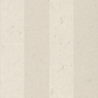 Casa Padrino Barock Vliestapete Beige / Creme 10, 05 x 0, 53 m - Tapete mit Streifen - Deko Accessoires