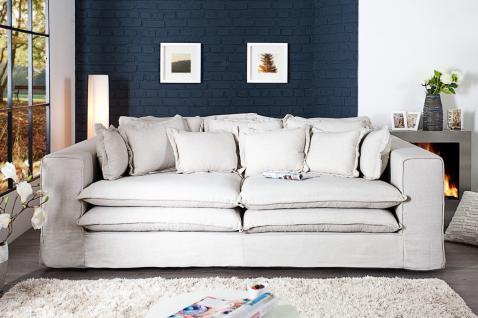 Casa Padrino Designer Wohnzimmer Sofa in creme - Luxus Qualität