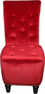 Casa Padrino Designer Chesterfield Esszimmer Stuhl Bordeaux Rot / Braun - Vorschau 2