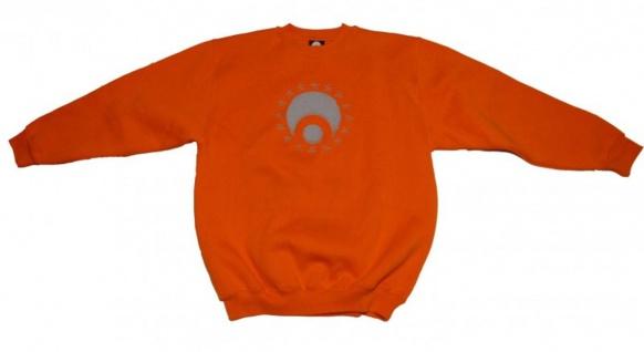 Osiris Skateboard Pullover Hip Hop Style Orange Sweater