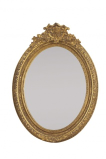Casa Padrino Barock Wandspiegel 80 x H. 115 cm - Luxus Spiegel