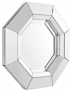 Casa Padrino Luxus Spiegel / Wandspiegel 68 x H. 68 cm - Luxus Kollektion