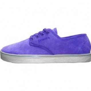 sports shoes 46fc9 af0ae Emerica Skateboard Schuhe Laced Gaudy Grey Purple