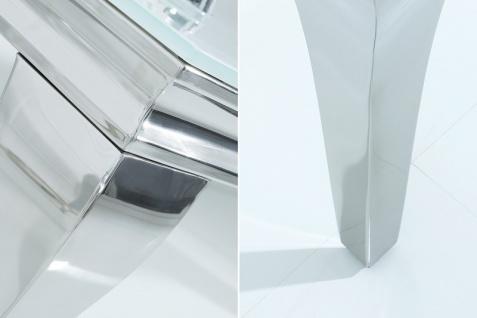 Barock Tisch 160cm weiss silber - Fernsehtisch - Vorschau 3