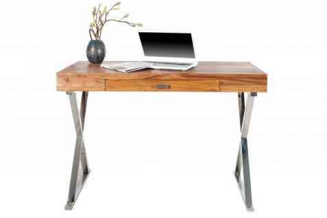 Casa Padrino Luxus Schreibtisch 120cm mit Schublade - Designer Kollektion